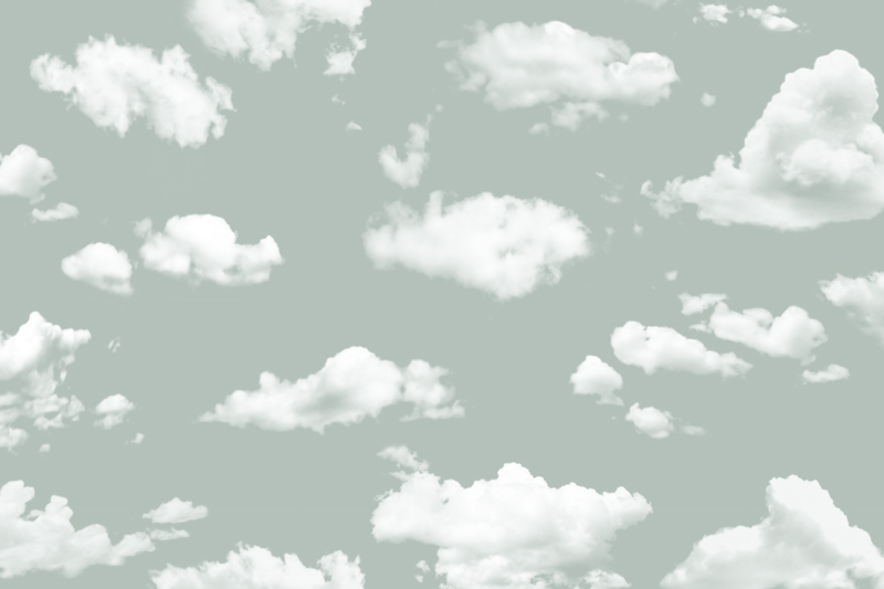 עננים ושמיים ירקרקים
