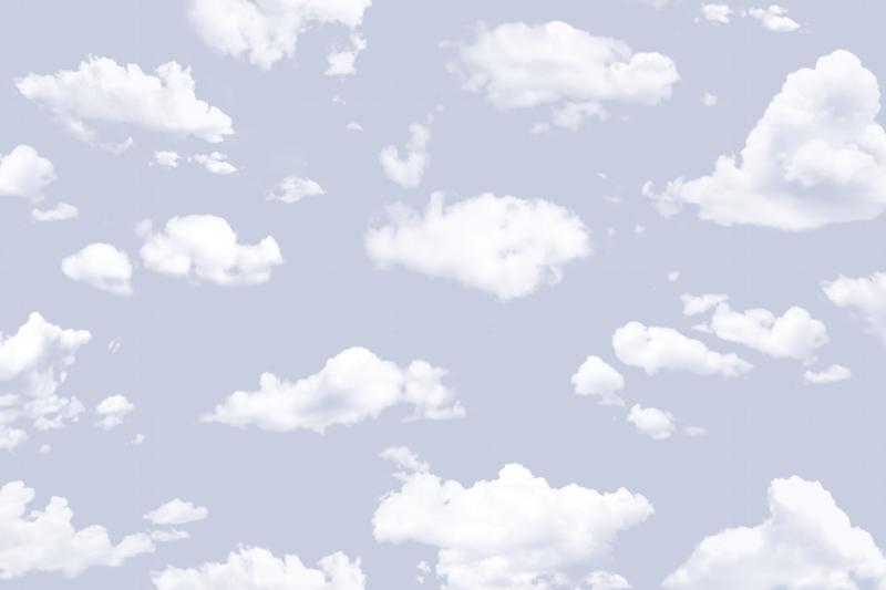 עננים ושמיים כחלחלים