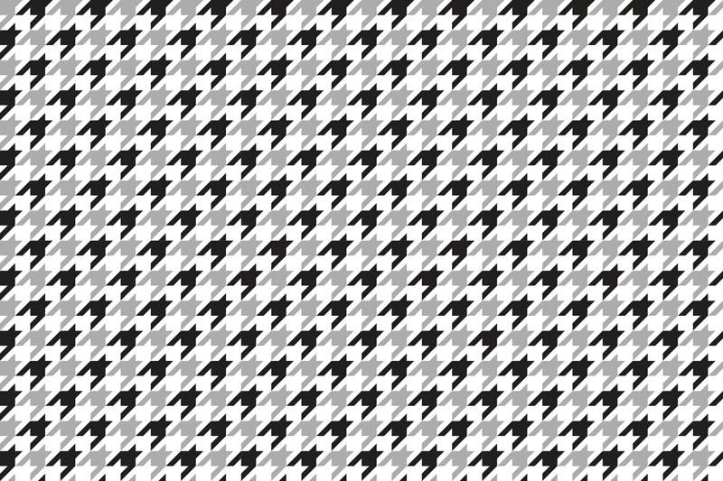 טפט פפיטה בגווני שחור לבן