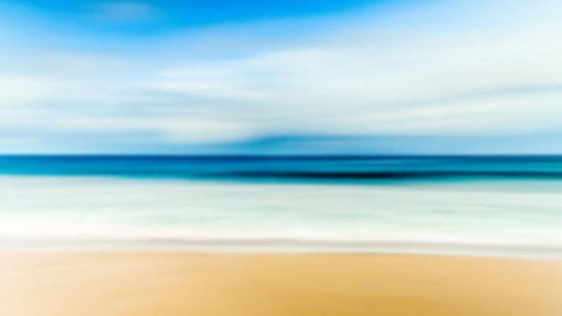 טפט עדין של חוף הים