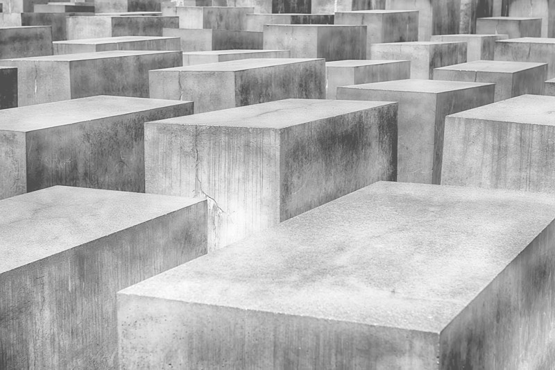 טפט קוביות בטון תת מימדיות