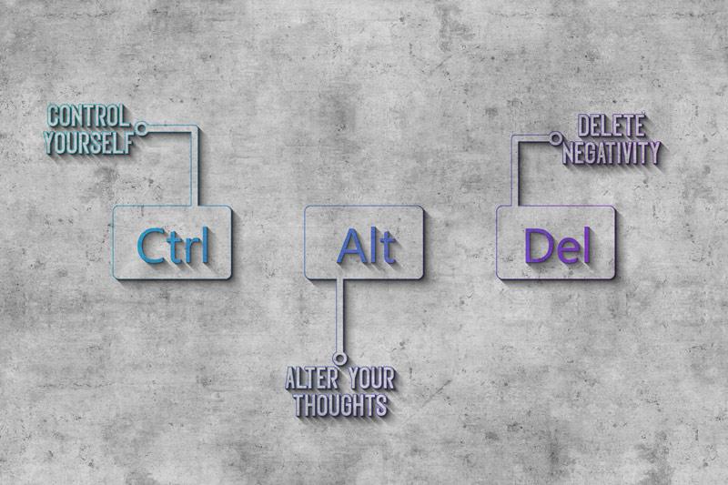 טפט לעסקים CTRL + ALT + DEL