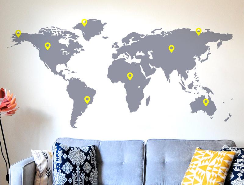 מסע על מפת העולם