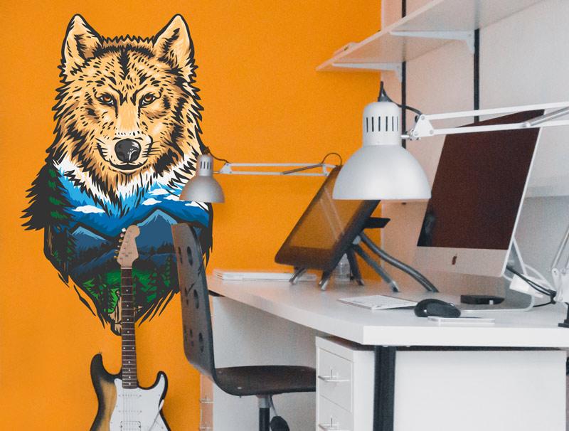 מדבק - עיצוב זאב ונוף