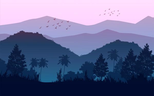 טפט - הרים סגולים