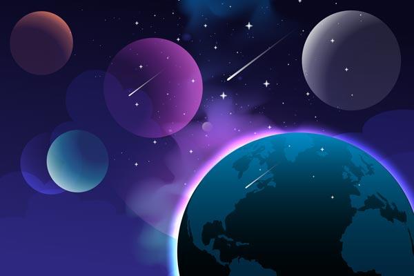 טפט - כוכבי לכת סגולים