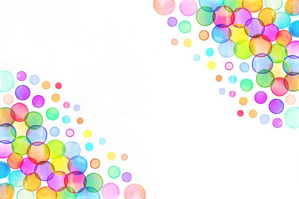 טפט - בועות בצבעים