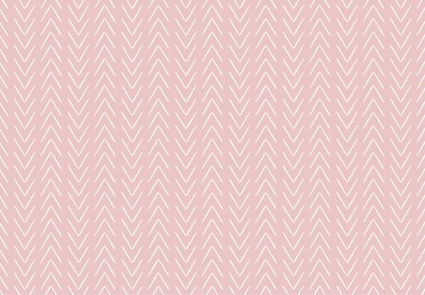 טפט - חצים לבנים על רקע ורוד
