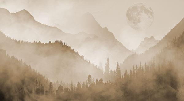 טפט - הרים מעוצבים צהבהב