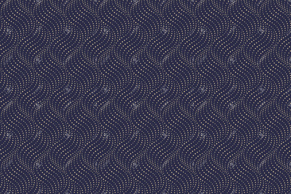 טפט - עיצוב נקודות כחול כהה