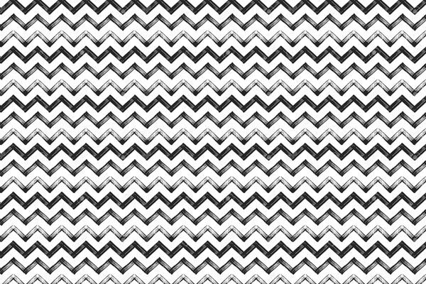 טפט - זיגזג שחור לבן