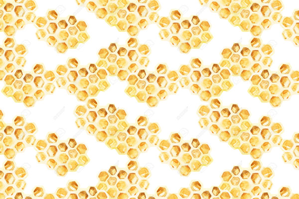 טפט - כוורת דבורים צהובה
