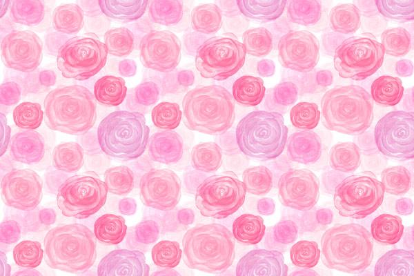 טפט - ורדים ורודים