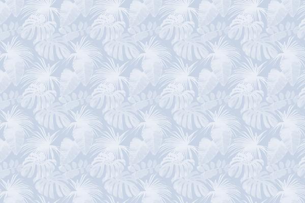 טפט - עלים מעוצבים גווני תכלת