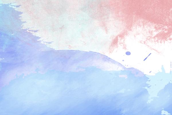 טפט - צבעים עדינים בכתמים אדום כחול