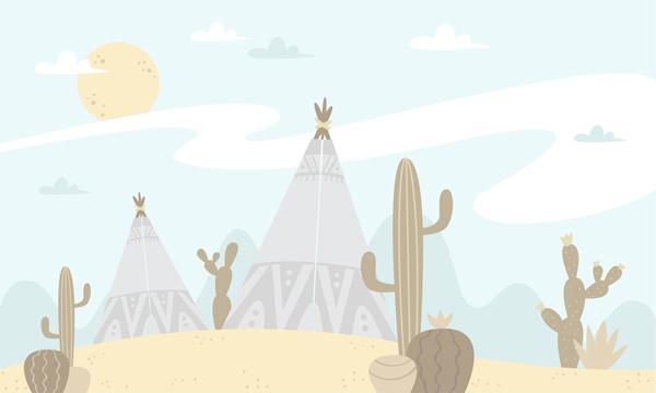טפט - יום חם במדבר